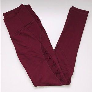 Victoria Sport leggings with criss cross design